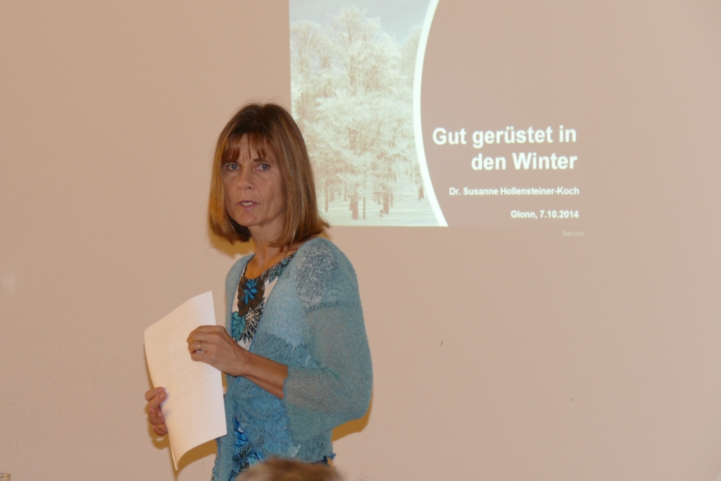 Gut gerüstet in den Winter mit Dr. med. Susanne Hollensteiner-Koch