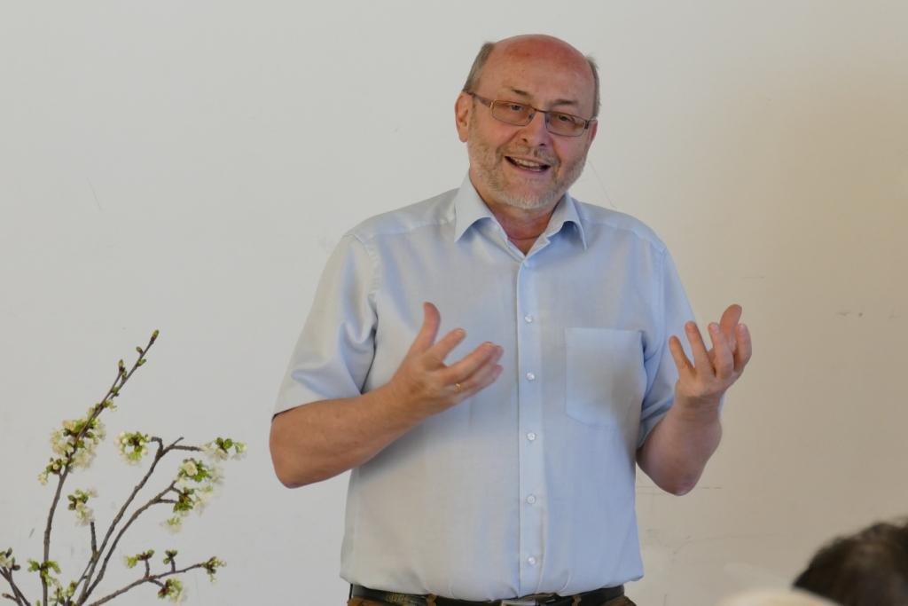 """""""Im Garten begegne ich Gott""""     mit Helmut Heiss,"""