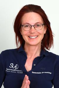 Swanhild Priestley, Physiotherapeutin, Heilpraktikerin und Osteopathin im Physio Zentrum Fockbek