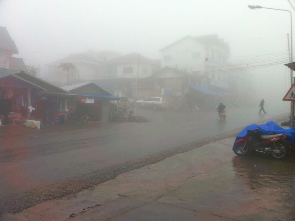 Tolle Aussichten in Phongsali