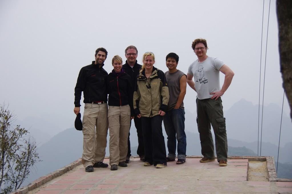 Reisegruppe Ha Long Ausflug