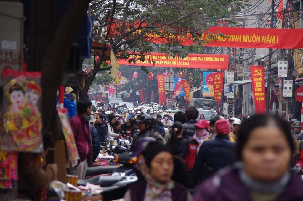 Chaos in Hanoi