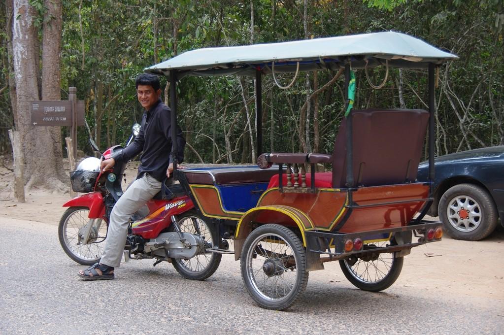 Unser Taxi für drei Tage Tempelbesichtigung