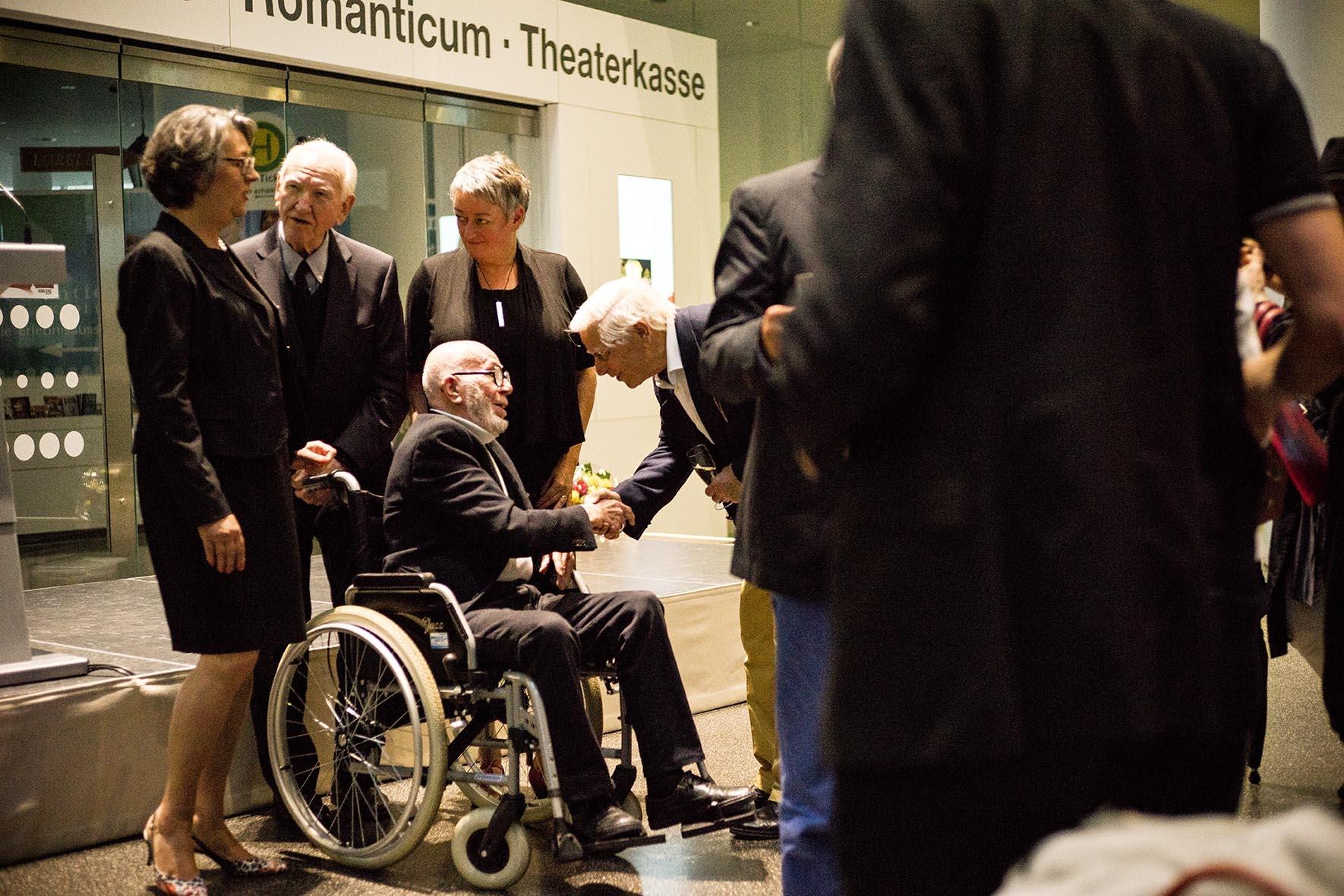 Preisverleihung 2016 heijo + gisela hangen-stiftung, fotograph: gaudenz bock