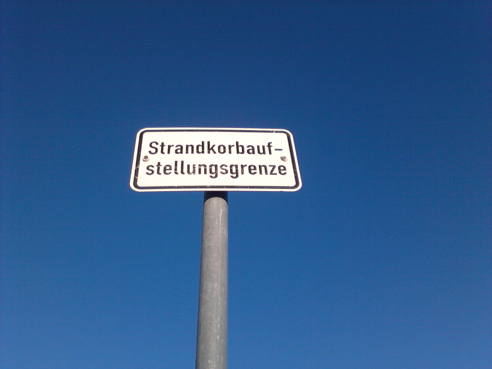 Strandkorbaufstellungsgrenze