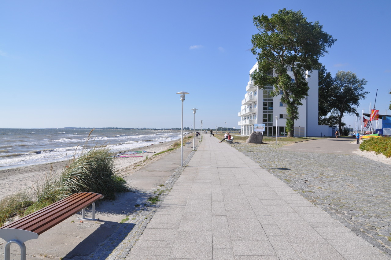 Promenade am Südstrand Großenbrode