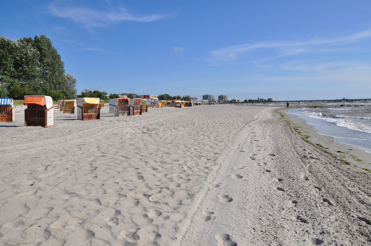 feiner Sandstrand in Großenbrode