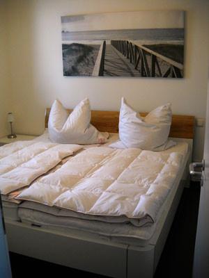 chambre supplémentaire avec grand lit