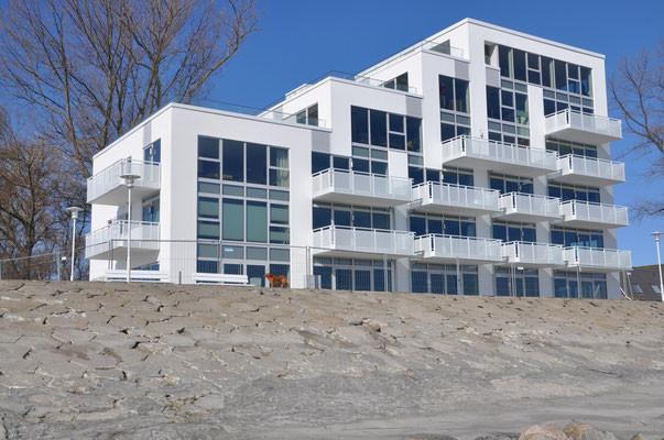 """immeuble """"Haus zur Mole"""" où se trouve l´appartement"""