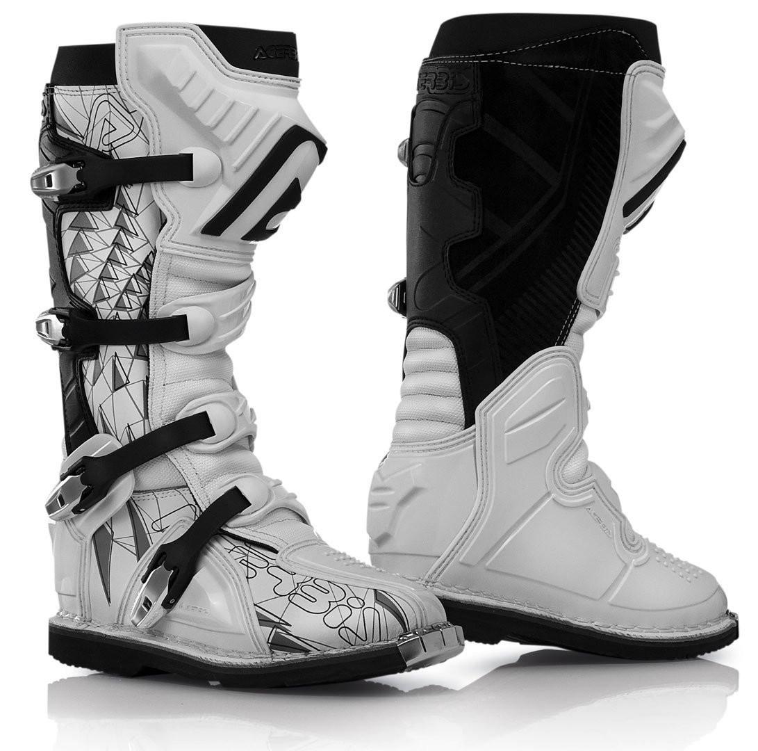(cod.AC002) Stivali Acerbis Shark Boots White/Black n° 42-43-44  €140,00