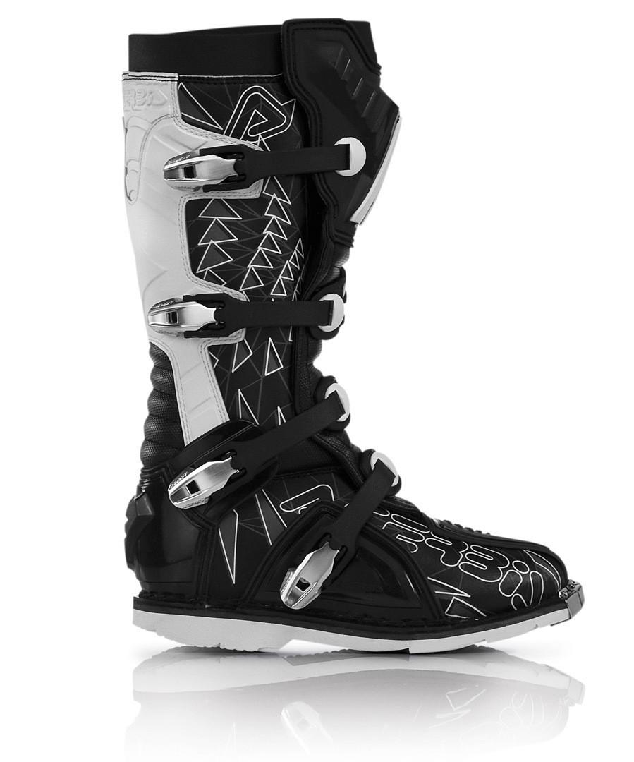 (cod.AC003) Stivali Acerbis Shark Boots Black/White n° 43 € 140,00