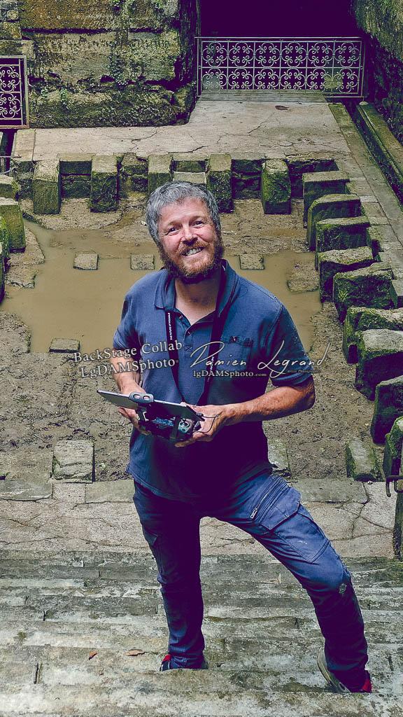 Selfie avec mon drone