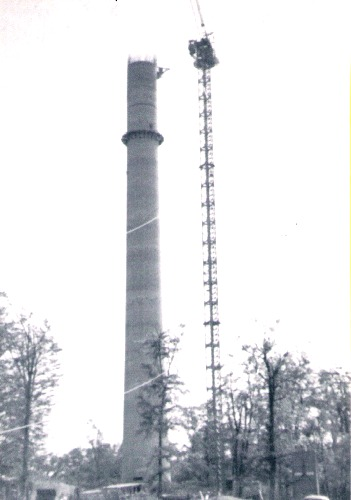 Turmbau - heutige Station
