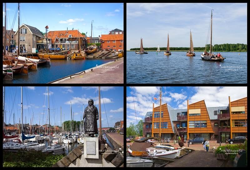 Oude en nieuwe haven van Spakenburg