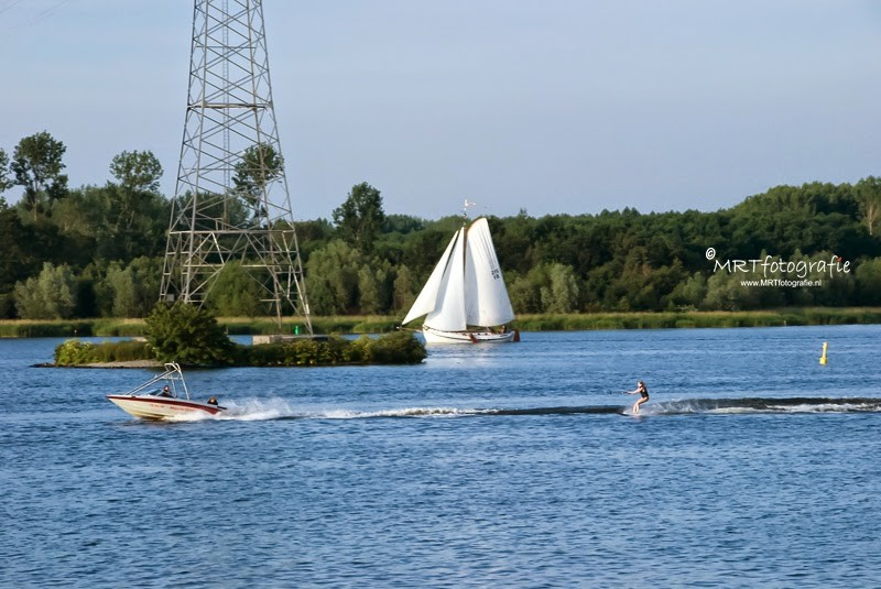 Watersport op de Eem bij Spakenburg