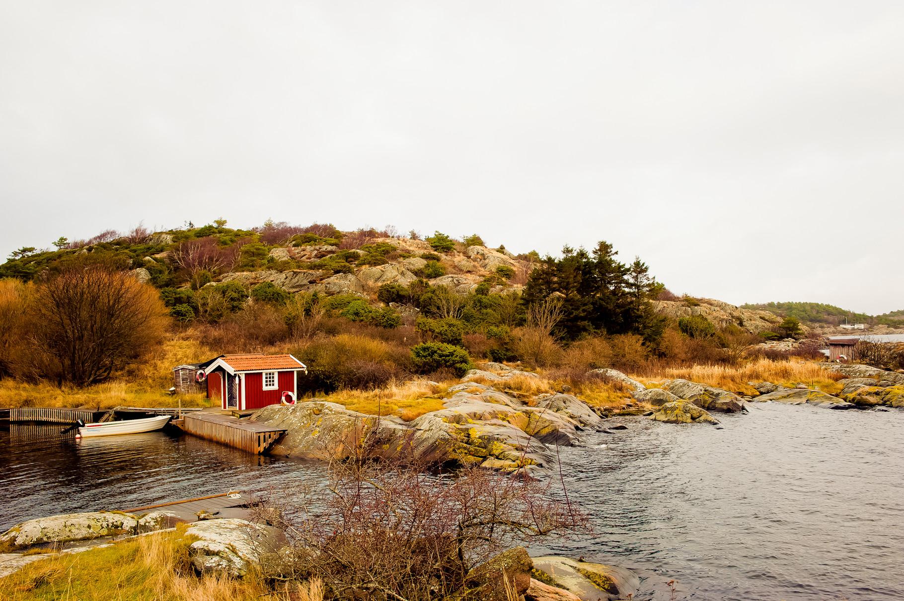 Kungsbackafjorden, Zweden