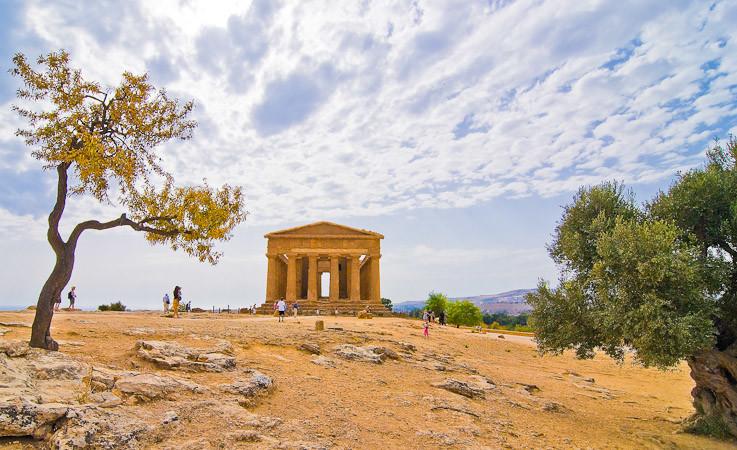 Agrigento, Sicilië
