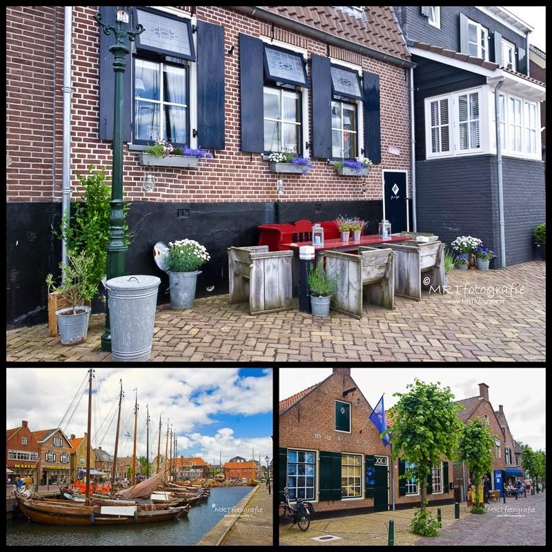 Aan de oude haven van Spakenburg