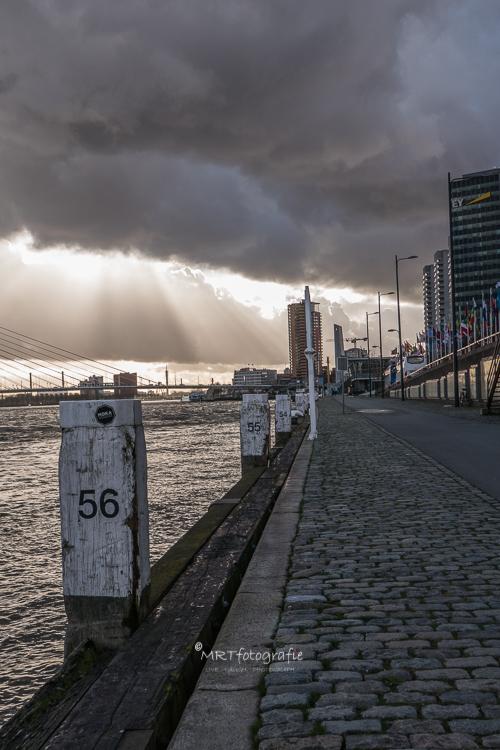 Verlaten kade Rotterdam