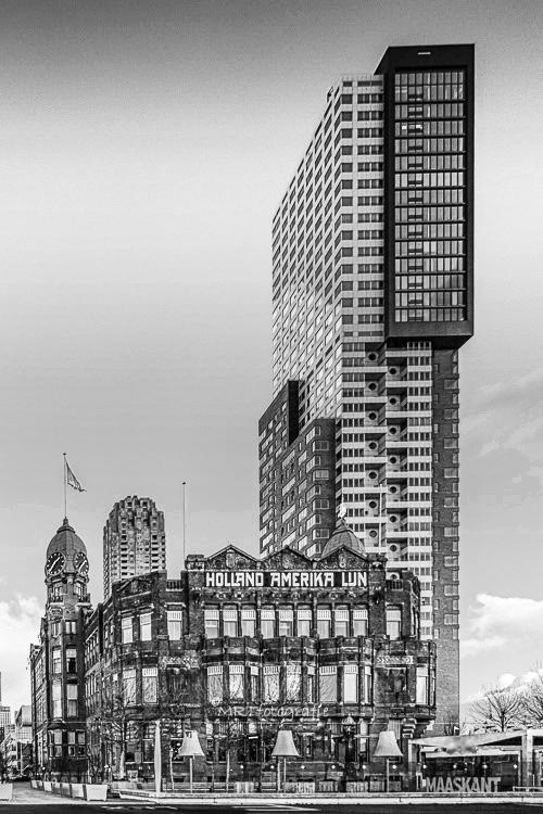 Holland Amerikalijn hotel te Rotterdam