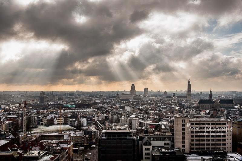 Zicht over Antwerpen