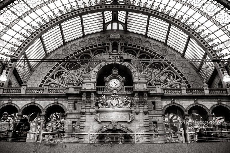 Antwerpen: Oude stationshal van Centraal Station