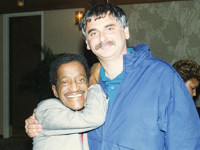 With Sammy on the road 1989