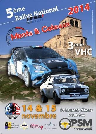 5eme rallye monts et coteaux 2014