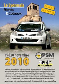 Le Lyonnais monts et coteaux 2010