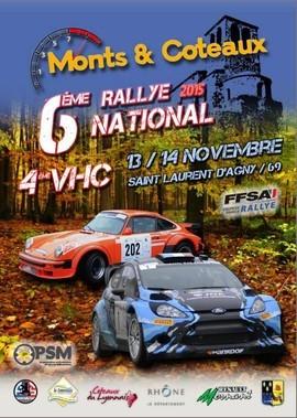 6eme rallye monts et coteaux 2015