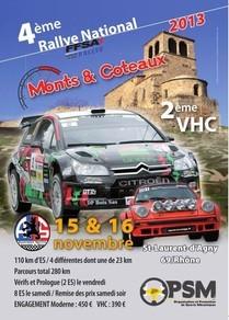 4eme rallye monts et coteaux 2013