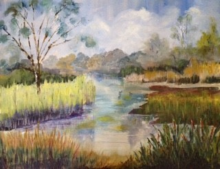 Pat Booth 'London Wetlands'