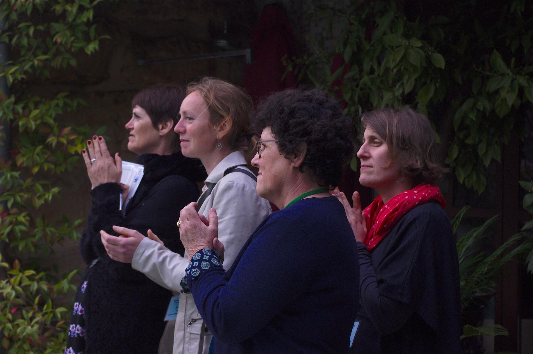 PALMARES AU CHÂTEAU LATOUR-SEGUR: Yannick, Cristina, Gaëlle et Anne