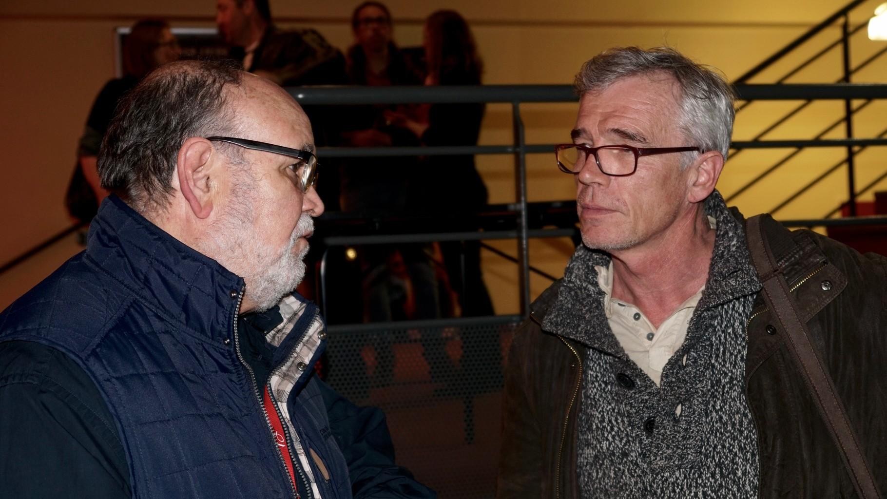 SOIREE DU GRAND ECRAN  Luis CLOS et Luc BERNARD