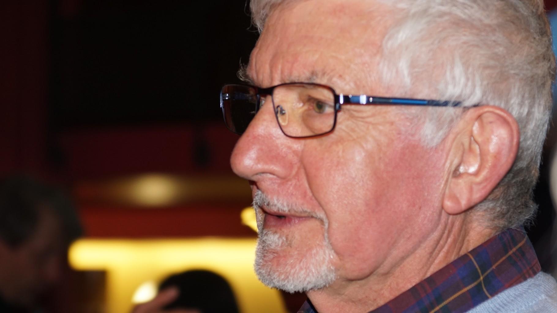 """SOIREE DU GRAND ECRAN  Jean-Paul JOLY, président de l'association """"Cinéphiles en Libournais"""""""
