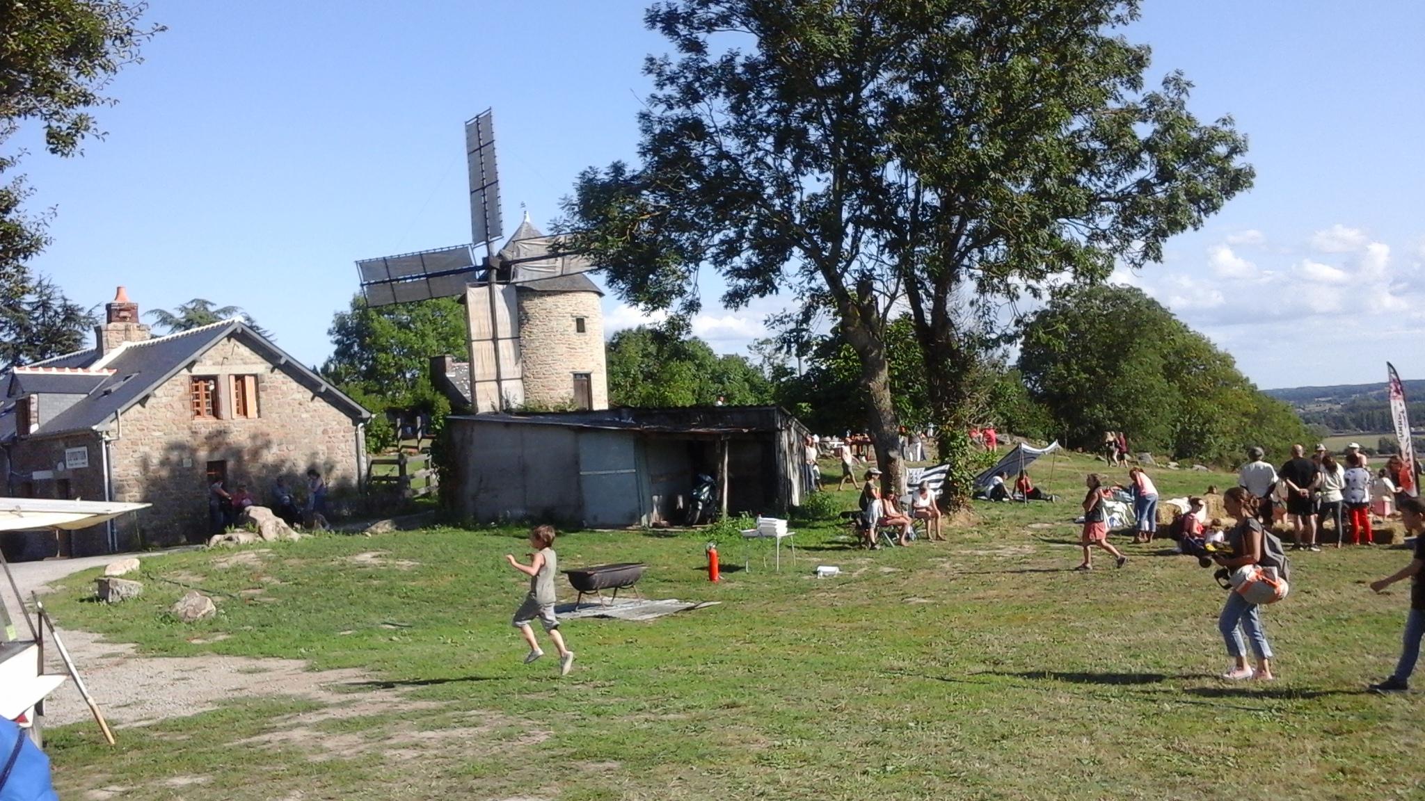 Fête du moulin Mont Dol 6 août 2017