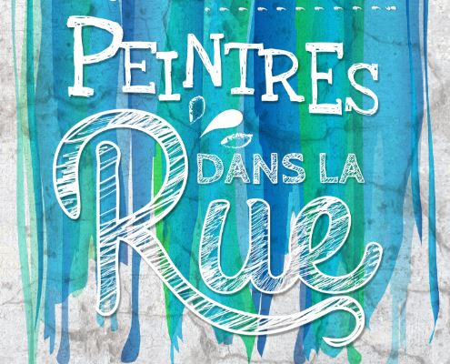 Affiche Peintres dans la rue Coutances 2016