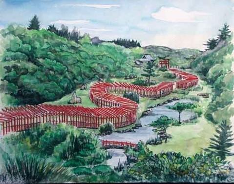 つがる市  高山稲荷神社