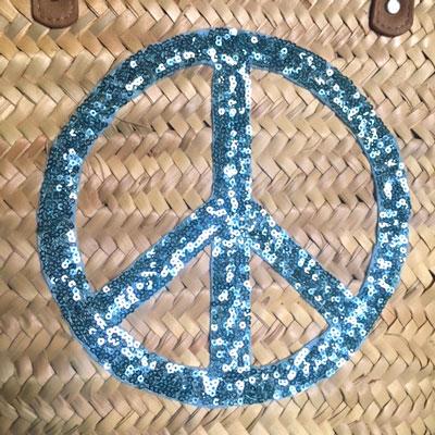 Korbtasche Peace