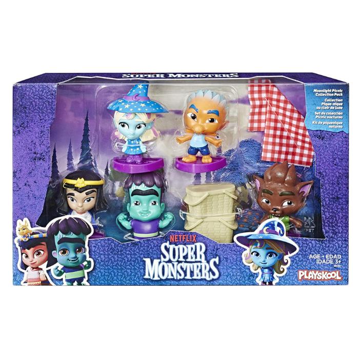 Super Monsters picnic nocturno