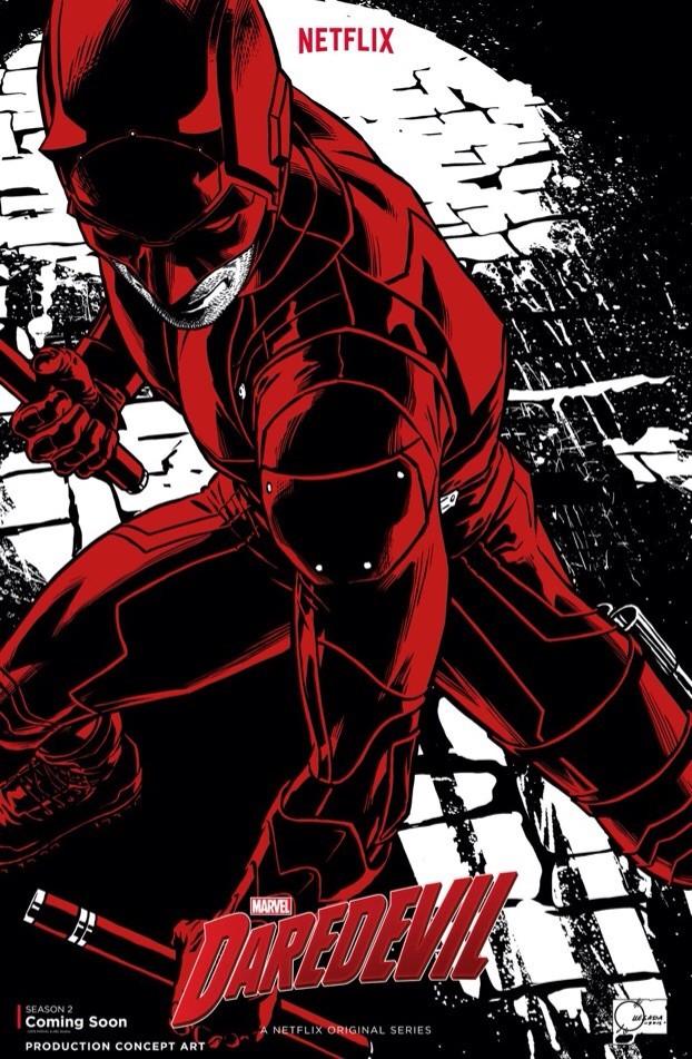 Daredevil in voller Montur auf dem Promo-Bild zu Season 2