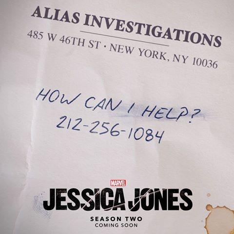 Auch Jessica Jones geht nun in die zweite Runde!