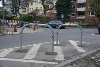 Die Fahrradbügel - Foto Ulla Ortlepp-Matthes