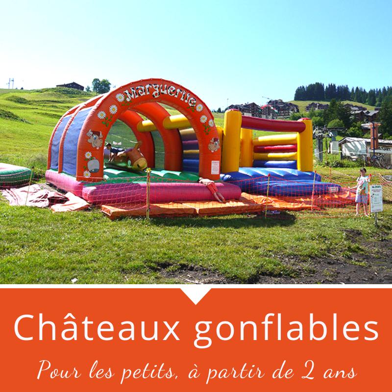 Chateaux Gonflables à Manigod Col de Merdassier
