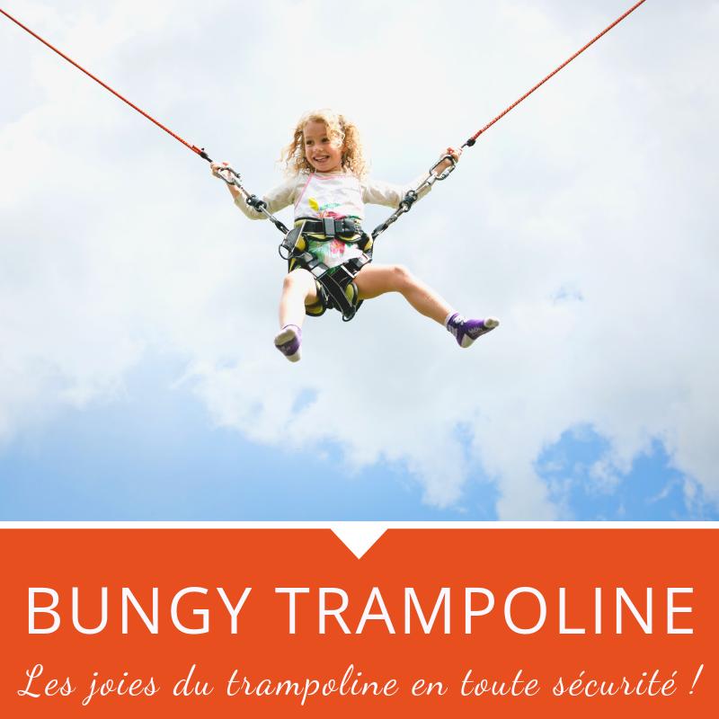 Bungy Trampoline, Activité été Manigod