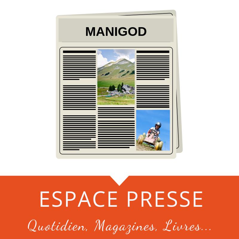 Vente de journaux, magazines et livres à Manigod