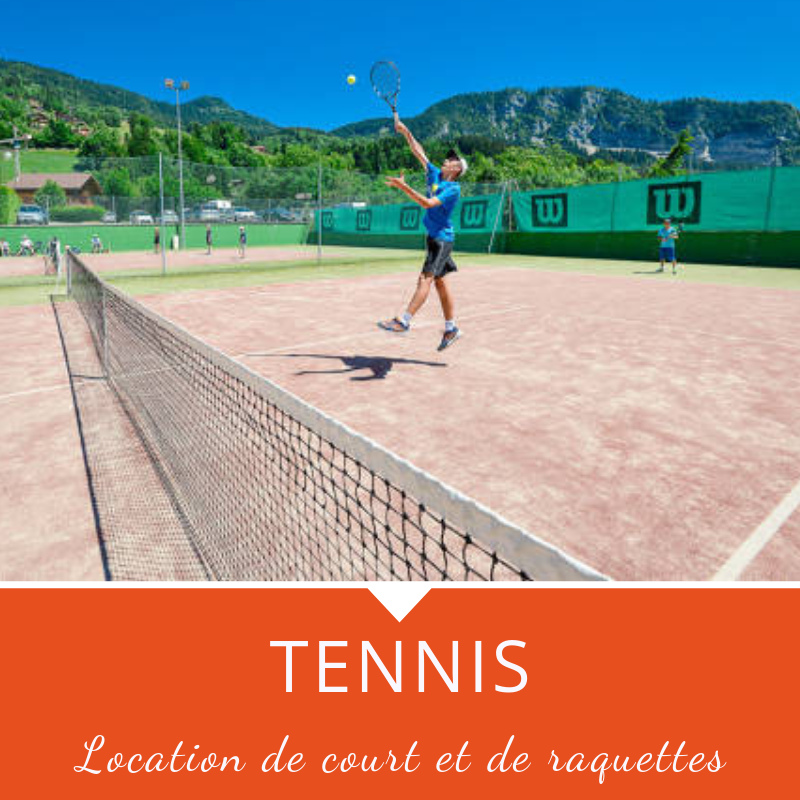 Location de court de tennis à Manigod