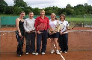 von links: Stephanie Hartwig, Andrea Hartwig, Carolin Rehak, Martina Heere, Melanie Heere