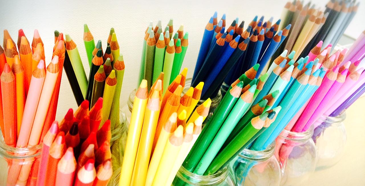 アートセラピー☆300色の色鉛筆でリフレッシュ&デトックス