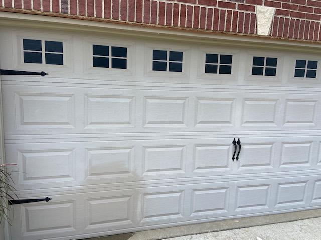 Garage Door Oxidation